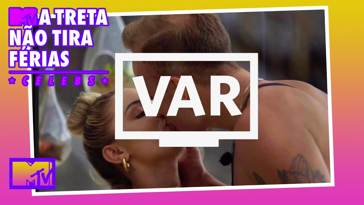 TEM VAR! Caíque responde se Flavia beijou Diego   MTV A Treta Não Tira Férias Celebs T1