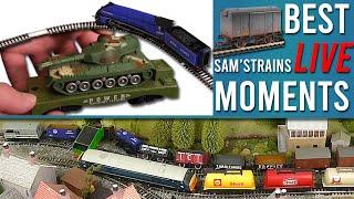 Sam's Best Moments (& Worst Train Crashes)   Sam'sTrains Live