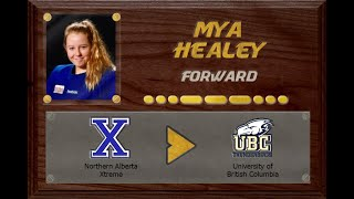 Mya Healey - CSSHL to U Sports | Stand Out Sports Hall of Fame