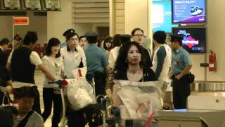 T-ara arrival @ Singapore Changi Airport T2 3rd June 2011 Part 1