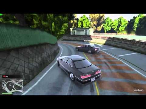 FiveM】「Usui DownHill Run」(GTA V Online Map Mod Drifting) - YouTube