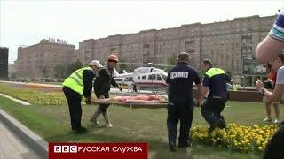 Авария в московском метро: поезд сошел с рельсов - BBC Russian