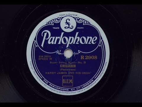 Harry James And His Orchestra 'Ciribiribin' 78 rpm