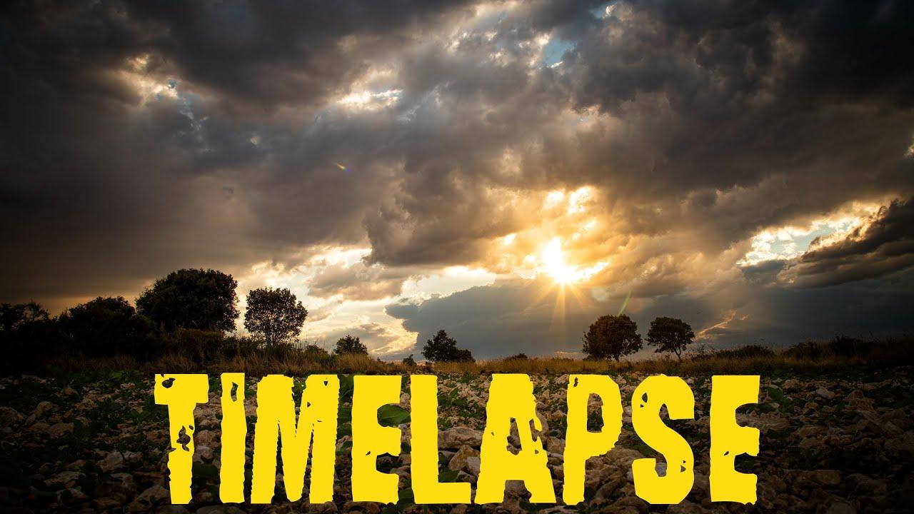 Cómo hacer un TIMELAPSE - ¡Por fin salgo de la ciudad! EJEMPLOS prácticos en el CAMPO