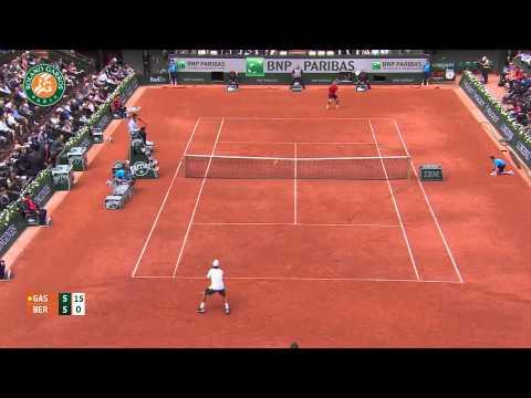 Roland Garros 2014 Thursday Highlights Berlocq Gasquet