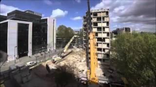 Демонтаж и снос здания(, 2015-11-03T00:17:01.000Z)