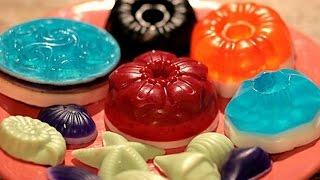 Домашнее мыловарение.Видео для детей Как сделать мыло Подарки Поделки своими руками