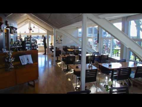 Restaurant og butik med unik udsigt