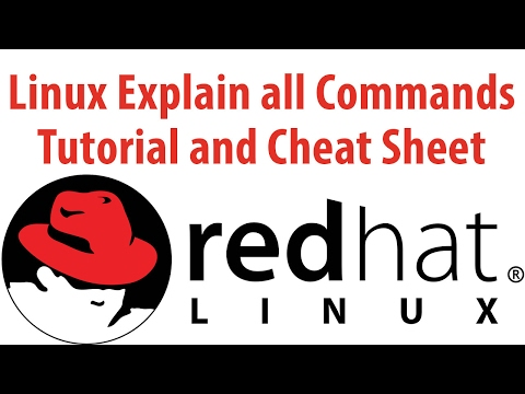 Linux Explain all Commands Tutorial and Cheat Sheet