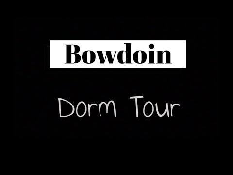 Bowdoin College - Freshman Year Dorm Tour