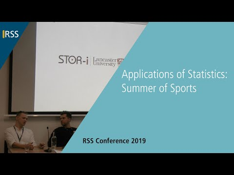 Applications of Statistics: Summer of Sports