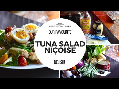 The ultimate TUNA SALAD NICOISE recipe!