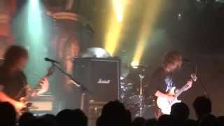 """Opeth """"April Ethereal""""  rock city, Nottingham 12-10-14"""