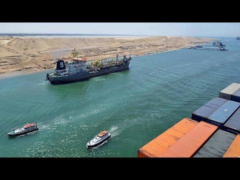 L'Égypte inaugure aujourd'hui son nouveau canal de Suez