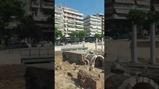 Идут раскопки в центре города Салониках