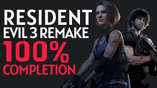 Resident Evil 3 Remake 100% Completion