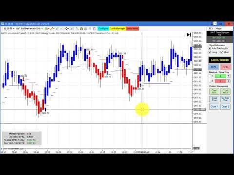 Algorithmic Trading, Live Trading, Blue Wave Trading Automated Trading Software for NinjaTrader