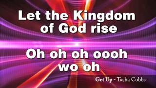 Tasha Cobbs - Get Up (LYRICS)