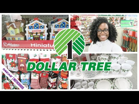 Dollar Tree Christmas 2019🌲Shop with me Dollar Tree Haul | Christmas Decor and Stocking Stuffers