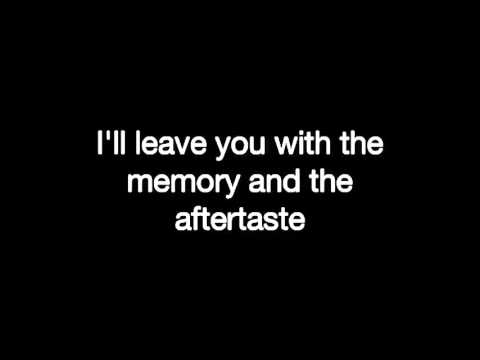 Aftertaste (lyrics)