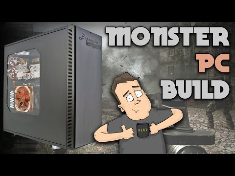 Crazy Fast Dual Intel Xeon Monster PC Build by Puget Systems
