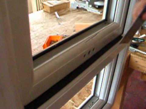 Bathroom Window Lock Broken opening a espag - youtube