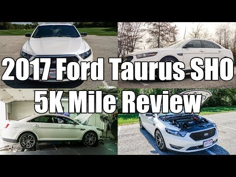 2017 Ford Taurus SHO 5000 Mile review and ownership experience.
