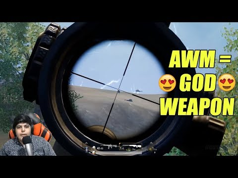 AWM = 😍 GOD Weapon 😍   Intense Battles   Pubg Mobile ( Emulator )