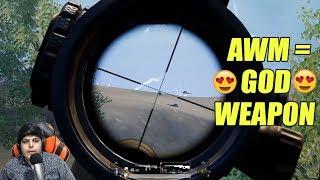 AWM = 😍 GOD Weapon 😍 | Intense Battles | Pubg Mobile ( Emulator )