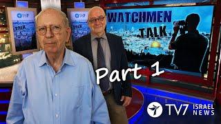 "TV7 Israel: Watchmen Talk – ""Man in the Shadows"" - Former Mossad Chief Ambassador Efraim Halevi"