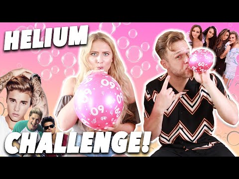 MY FIRST COVER FT OLLY MURS!! 😂 ( Hilarious helium challenge! )
