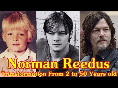 Norman Reedus Transformation From 2 To 50 Years Old