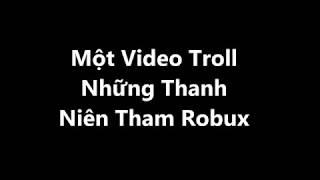 {Lumber Gaming} Roblox Troll Lấy Acc Trên Fb