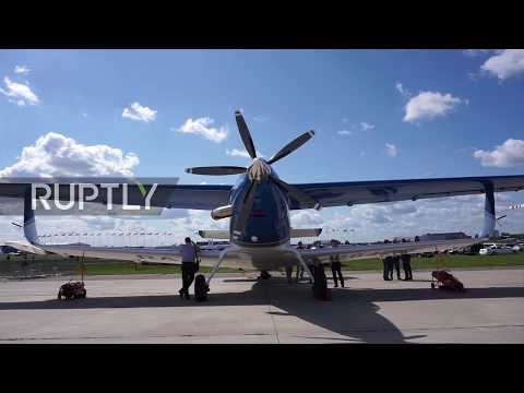 Russia: Fully-composite successor to legendary An-2 plane on display at MAKS 2017
