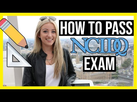 HOW TO PASS THE NCIDQ EXAM + Study Schedule
