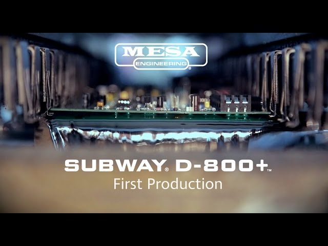 MESA/Boogie Subway D-800 Plus First Production
