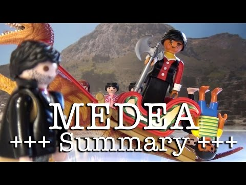 Medea to go (Euripides in 6.5 minutes, English version)