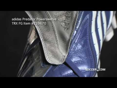 new product 38855 b73f2 adidas Predator PowerSwerve TRX FG - True Blue White Metalli