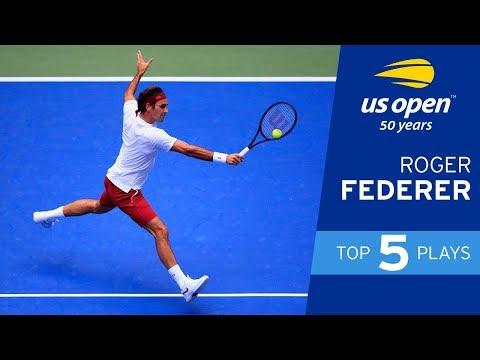 Top 5 Plays of Week 1: Roger Federer