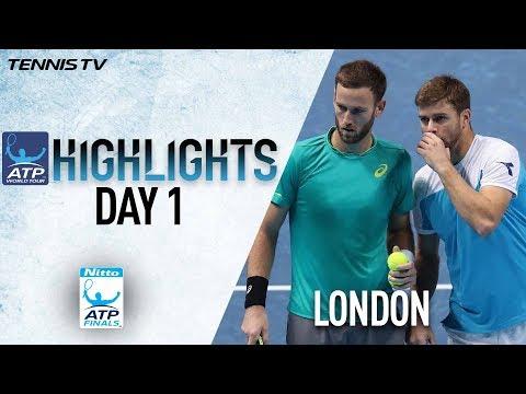 Highlights: Harrison/Venus Upset Kontinen/Peers In Nitto ATP Finals 2017 Round Robin