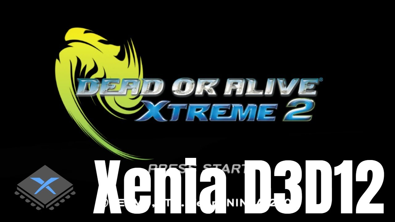 [XBOX 360 Emulator] Xenia D3D12 | Dead or Alive Xtreme 2