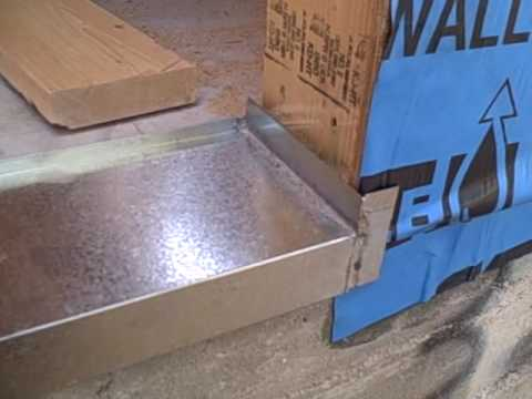Bottom Sill Flashing Slab To Bottom Plate Connection Youtube