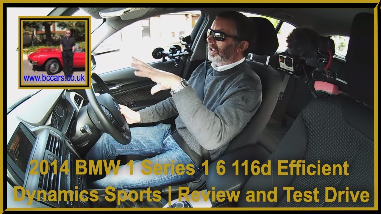 Review and Virtual Video Test Drive in our BMW 1 Series 1 6 116d  EfficientDynamics Sports