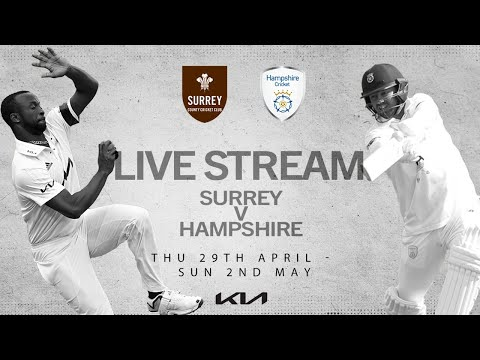 Surrey v Hampshire - Day 3