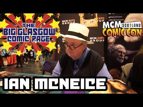 Ian McNeice at MCM Scotland Comic Con