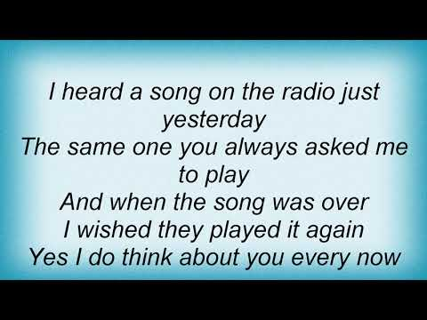 Garth Brooks - Every Now And Then Lyrics