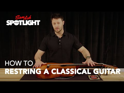 how-to-restring-a-classical-guitar-|-with-d'addario