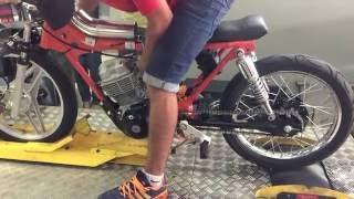 Moto Protótipo 150 cilindradas. +200km/h no Dinamômetro