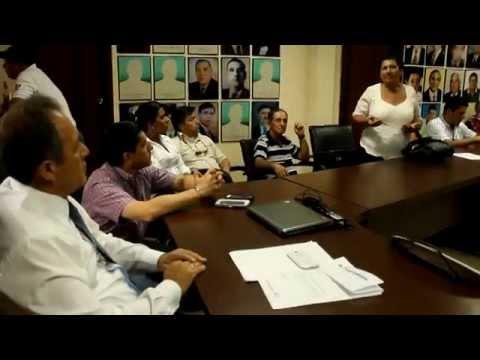 Alcalde de Chone dirige reunión con representantes comunitarios PPMCH