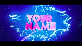 FREE INSANE 3D Sync Intro Template #136   Cinema 4D & After Effects Intro Template + FULL Tutorial